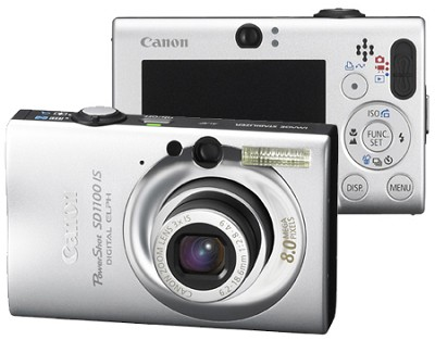 Powershot SD1100 Digital Camera (Silver) - REFURBISHED