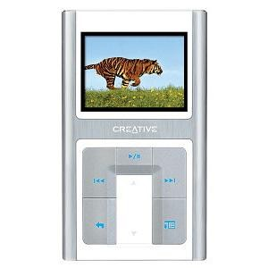 Zen Sleek Photo 20 GB MP3 Player