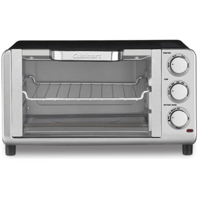 Compact Toaster Oven Broiler (TOB-80FR)(Certified Refurbished)