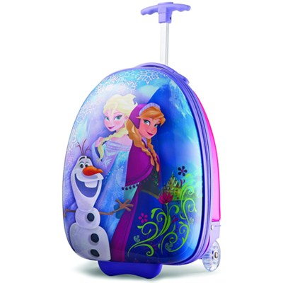 18` Upright Kids Disney Themed Hardside Suitcase - Frozen