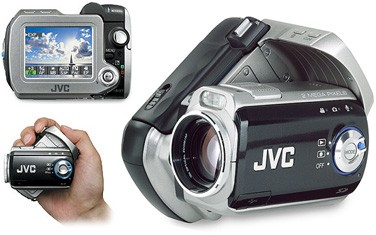 GZ-MC200 Everio Digital Media Camera with 4 GB Microdrive & 10x Optical Zoom