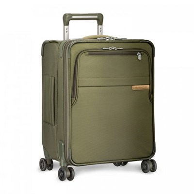 Baseline 21` International Carry-On Luggage Spinner - Olive U121CXSPW-7