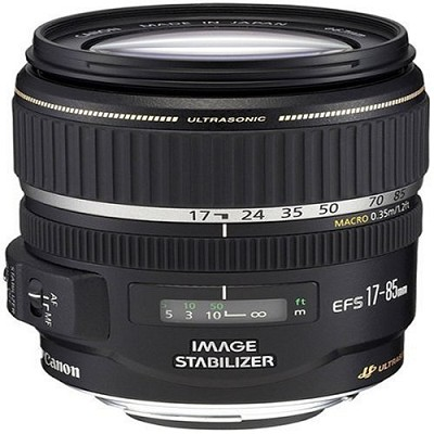 EF-S 17-85mm F/4-5.6 IS USM Lens, With Canon 1-Year USA Warranty