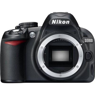 D3100 14.2MP 1080p Digital SLR Camera Body (Black)(Refurbished)