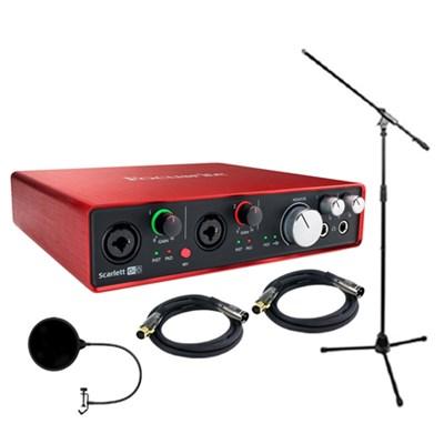 Scarlett 6i6 USB Audio Interface (2nd Gen) w/ Professional Tools