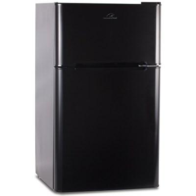 CCRD32B 3.2 Cu. ft. Double Door Mini-Refrigerator with True Freezer, Black