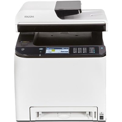 SP C261SFNw A4 Color Laser Multifunction Printer with Wi-Fi, Up to 21 ppm