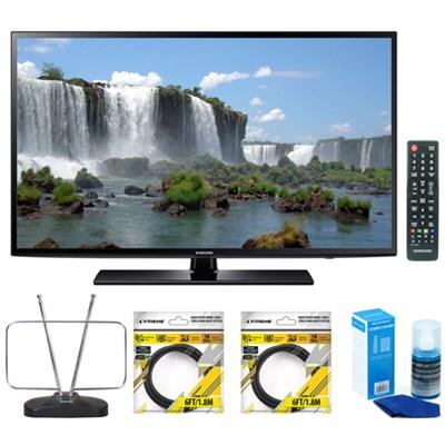 40-Inch Full HD 1080p 120hz Smart LED HDTV UN40J6200 w/ Accessories Kit