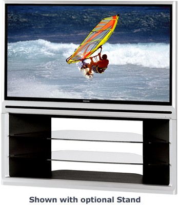 56HM66 - 56` DLP Rear Projection HDTV + w/ CableCard Slot and dual HDMI inputs