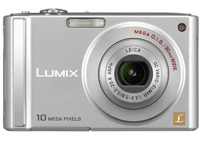 DMC-FS20 (Silver) 10 Megapixel Digital Camera w/ 3-inch LCD and 4x Optical Zoom