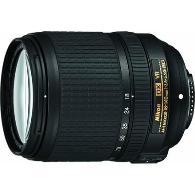 18-140mm f/3.5-5.6G ED AF-S VR DX Nikkor Lens - 2213