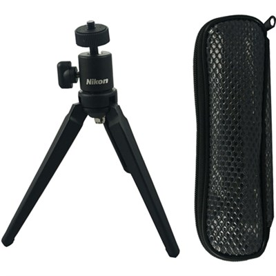 Mini Table-top Tripod with Clear Case