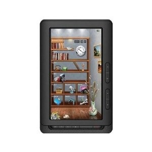 7` Color Display eBook Multimedia Tablet & eReader - Black