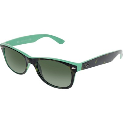 New Wayfarer Sunglasses -Green Frame-Green Lens 52mm