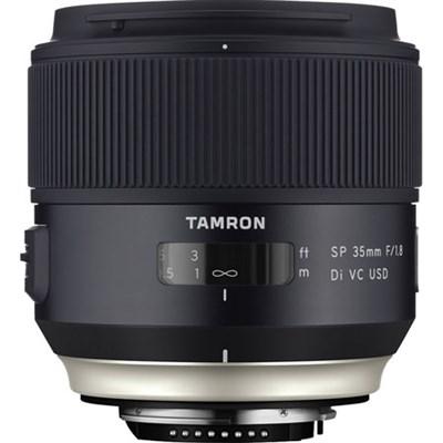 SP 35mm f/1.8 Di VC USD Lens for Nikon Mount (AFF012N-700) Refurbished