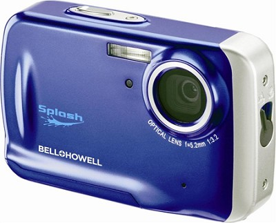WP5 Waterproof 12.2 MP Blue Digital Camera w/ 5X Zoom, 2.7 Inch LCD
