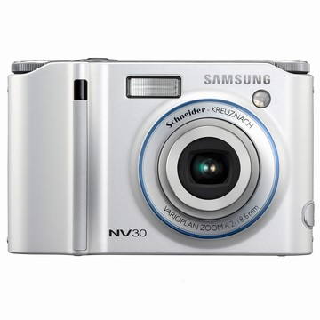 NV30 8MP 2.5` LCD Digital Camera (Silver)