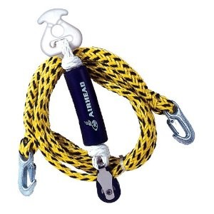 Tow Harness, Self Centering Pulley, 12 ft.
