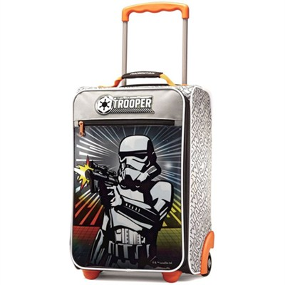 18` Upright Softside Suitcase (Star Wars Storm Trooper)