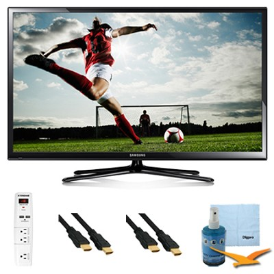 64-Inch Full HD 1080p Plasma HDTV 600Hz Plus Hook-Up Kit - PN64H5000