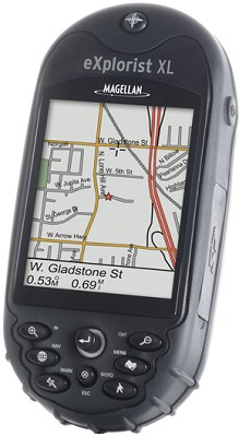 eXplorist XL Large-Screen Color Handheld GPS Receiver