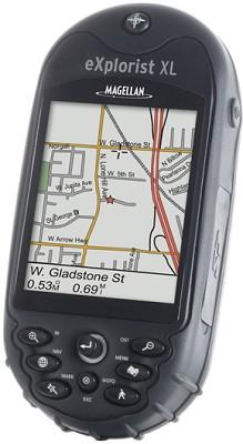 eXplorist XL Large-Screen Color Handheld GPS Receiver