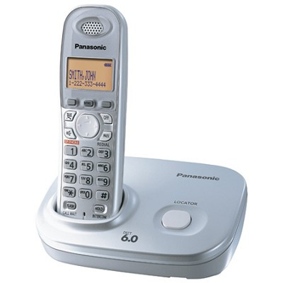 KX-TG6311S DECT 6.0 Expandable Digital Cordless Phone System