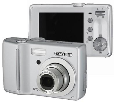 S730 7.2 MP Digital Camera (Silver)