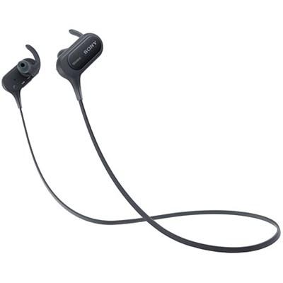 MDRXB50BS/B Wireless, In-Ear, Sports Headphone, Black - OPEN BOX