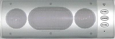Wireless Bluetooth Stereo Speaker (Silver) - OPEN BOX