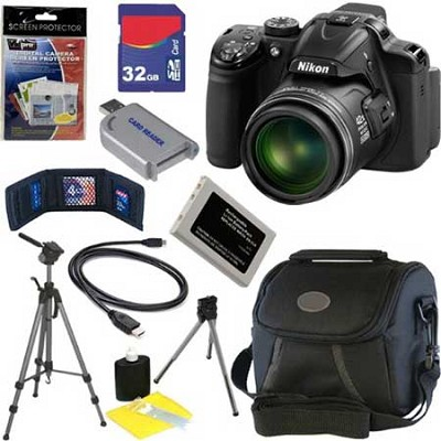 COOLPIX P530 16.2 MP CMOS  Digital Camera Studio Bundle