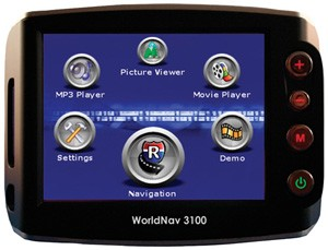 WORLDNAV 3100 Premium Satellite Navigation System