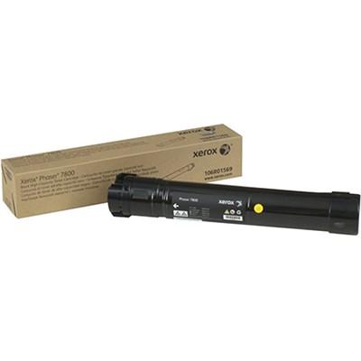 Black High Capacity Toner Cartridge for Phaser 7800 - 106R01569