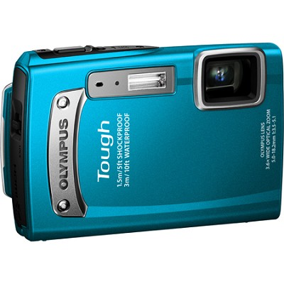 Tough TG-320 14 MP Waterproof Shockproof Freezeproof Digital Camera - Blue