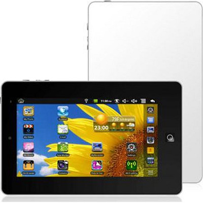 7` Tablet Computer White (EGLIDE2WH)