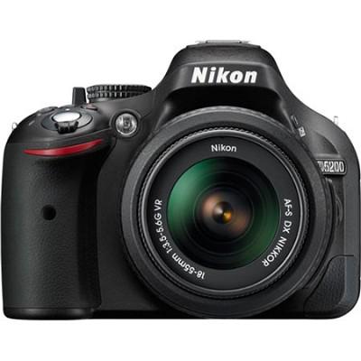 D5200 24.1MP DSLR w/ 18-55mm VR Lens - Factory Refurbished - Bundle Deal
