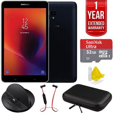 8` Galaxy Tab A 32GB Tablet (2017) - Black w/ Warranty + Accessories Bundle