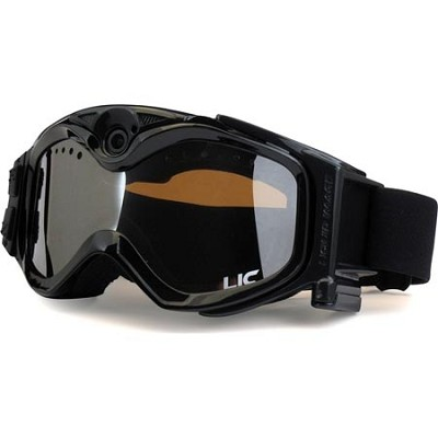 Summit Series Video Camera Snow Goggles-Black