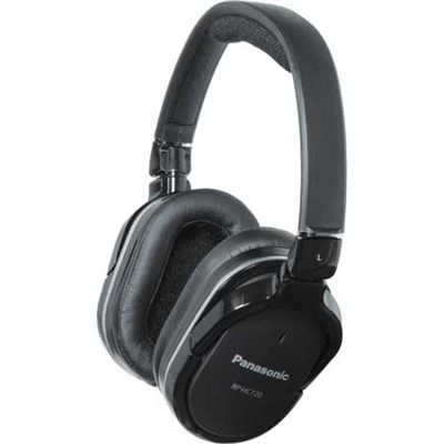 RP-HC720 Noise Cancelling Over Ear Headphones - OPEN BOX