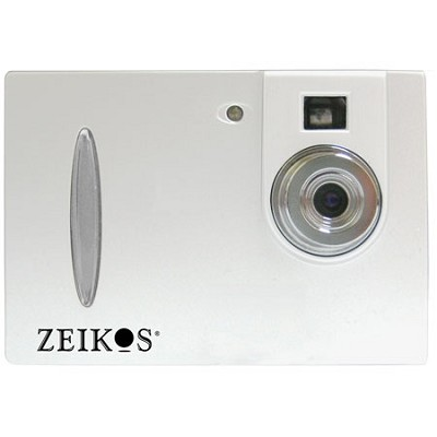 ZE-DC26 Point & Shoot Digital Camera - White