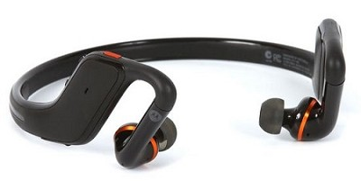 S11-HD Wireless Stereo Bluetooth Headset Black/Orange - Factory Refurbished