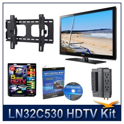 LN32C530 - HDTV + Hook-up Kit + Power Protection + Calibration + Tilt Mount