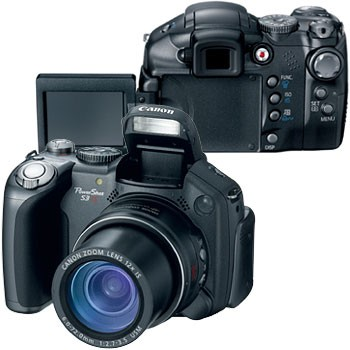 Powershot S3 IS Digital Camera - REFURBISHED