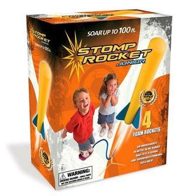Stomp Rocket Junior Glow Kit (Glow in the Dark Rockets!)