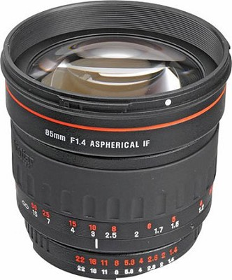 85mm f/1.4 Series 1 Manual Focus Portrait Lens for Nikon