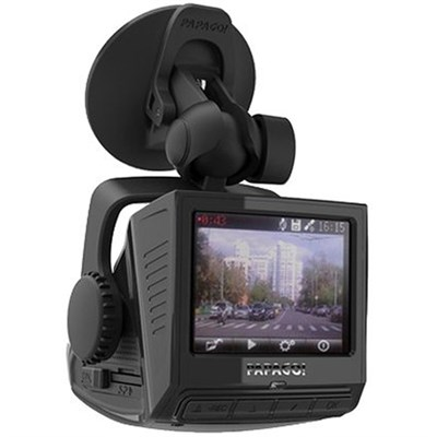 P2PRO-USP 2 Pro Full 1080P Dashcam w/Built-In GPS/2.4-Inch LCD Blk - OPEN BOX
