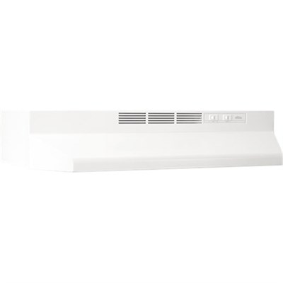 36` Non-ducted Under Cabinet Hood in White - 413601