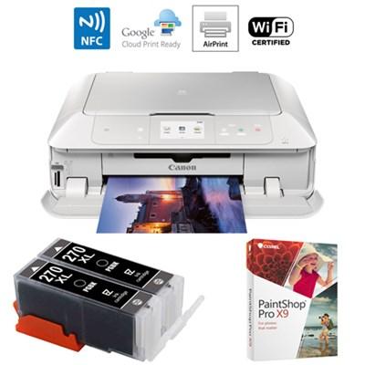 MG7720 Printer Scanner & Copier w/Airprint & Cloud Print w/Ink Cart Bundle