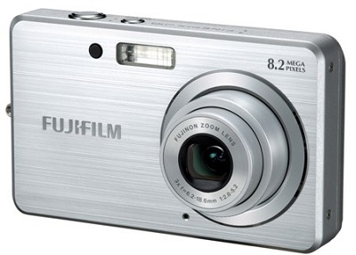 FINEPIX J10 8MP Digital Camera (Silver)