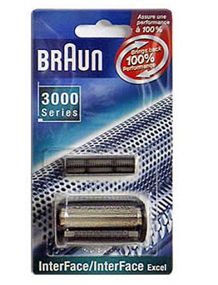 INTERFACE Black Shaver Refill- 3600FC